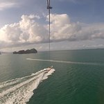 View from the Parasail Experience
