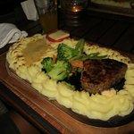 Plankebøf med bearnaise