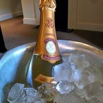 Eventually the ice bucket that fitted a champagne bottle
