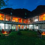 Sakya Abode in the Evening