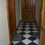 wejścia do apartamentów