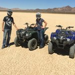 ATVs in the Mojave Desert