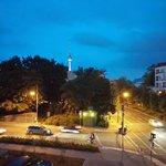 The view from MEININGER Hotel Berlin Alexanderplatz