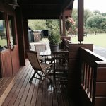 Fin lodge decking