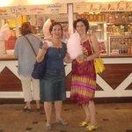 Ved Candyfloss tæt på Wagamama Resturant