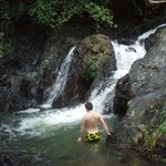 Small waterfall near Eco Venao