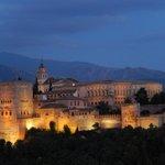 Alhambra as seen from Mirador San Nicholas