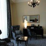 Neu renovierte geschmackvoll eingerichtete Suite mit allem Komfort
