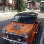 La Mini arancione