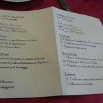 La mattina Scelta menu pranzo e cena