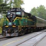 Adirondack Scenic RR Train