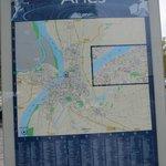 Map of Arles