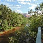 Oak Creek where the ducks swam