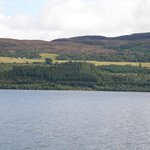 The other shore of Loch Ness