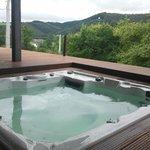 Jacuzzi annex sauna prive te gebruiken !!