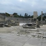 Ruins by the theatre