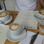 good cappacinos/latte