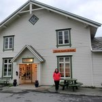 An old fisherman shop building