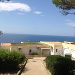 our garden view, but sea view just 5 steps away