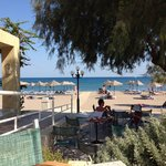 Afternoon view from the beach bar. Miss our holiday