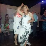 Dancing at my 70th Birthday Party