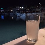 Chilled Ouzo after dinner!