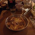 Tortelli di patate rosse e funghi di borgotaro