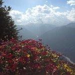 Top of Crystal Mt looking at Mt Rainier