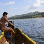 Viaje de ida hacia la comunidad embera