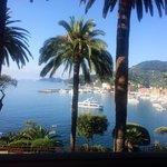 Stunning views from Hotel Continental in Santa Margherita ��