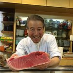 The friendliest chef in Japan!