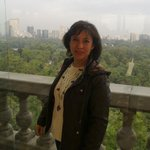 Vista desde el Alcazar de Chapultepex