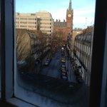 View out my window towards Kingscross