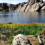 Sylvan Lake hike is awesome!