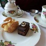 afternoon tea -- dessert pastries