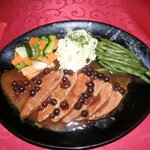 Duck Breast with Blackcurrant Sauce
