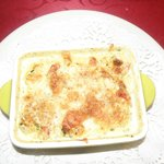 Crab and Prawn Gratinée