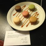 lovely surprise in our room when we checked in