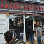 Negozio di chitarre a Camden