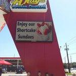 Frozen custard at Andy's