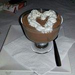 Crema de tres chocolates! Riquísima. Siempre es un placer volver a Casa Mari!