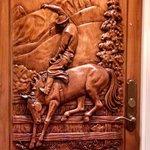 wort cowboy suite door