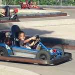 Even my tiny 4yr old was king of the track :)