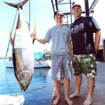 118lbs Yellow fin tuna
