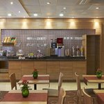 Continental breakfast is served daily with a wide selection of products