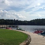 Paddleboat dock