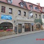 Hotel Zur traube, Straßenansicht