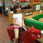 Be sure to let the kiddos ride the pig!
