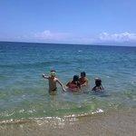 Spiaggia libera e mare caraibico!