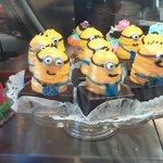 Chompie's Deli Minion Cupcakes
